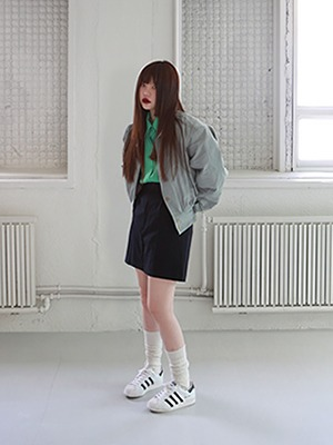 colour oversize shirts(green,pink!)