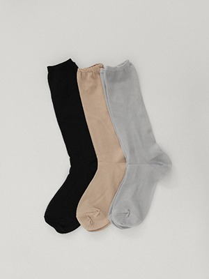 sheer long socks(3colours!)